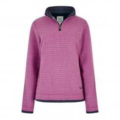 Beyonce 1/4 Zip Grid Fleece