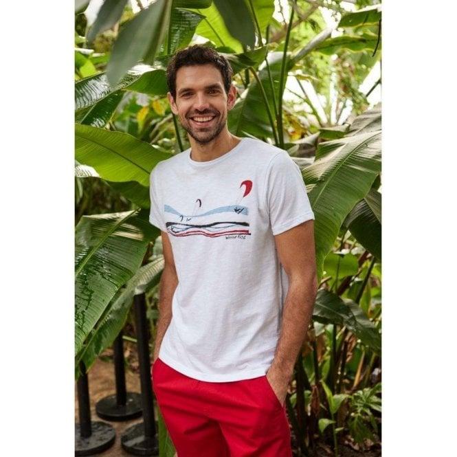 Weird Fish Kitesurfers Organic Cotton Graphic T-Shirt