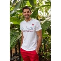 Kitesurfers Organic Cotton Graphic T-Shirt