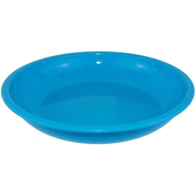 Yellowstone Plastic Camping Bowl 20cm - Blue