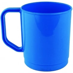 Plastic Mug 275ml - Blue